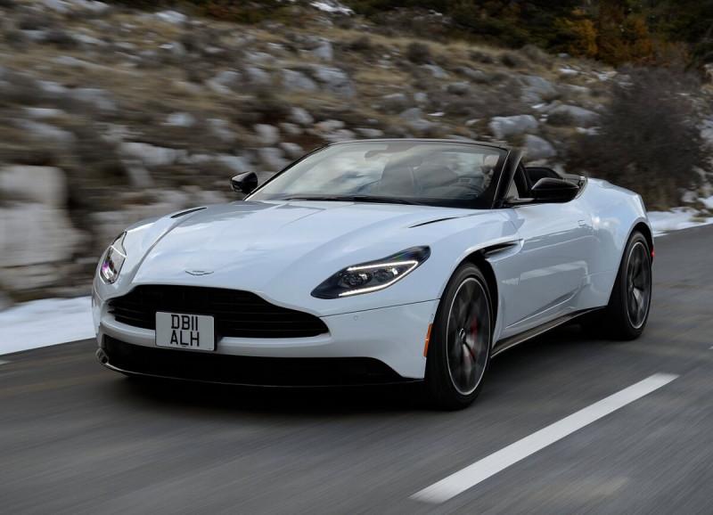 如名轻快 Aston Martin敞篷GT跑车DB11 V8 Volante