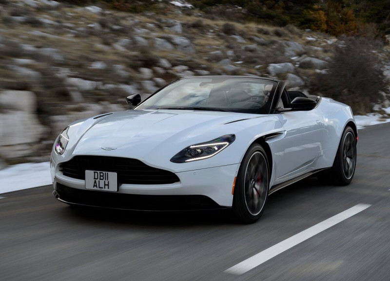 如名輕快 Aston Martin敞篷GT跑車DB11 V8 Volante