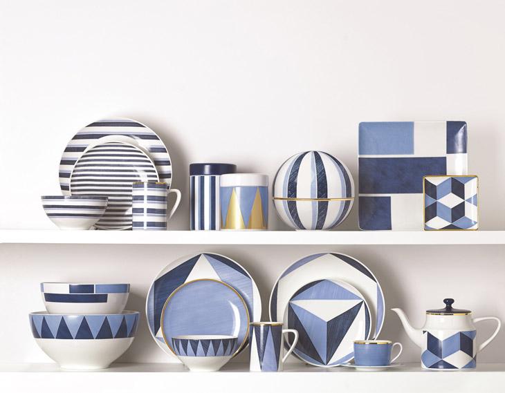 美国白宫御用餐瓷品牌LENOX  2018新品Blue Azzurro亮眼上市