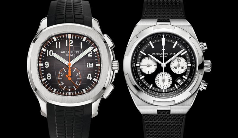 高階不鏽鋼計時錶 百達翡麗vs江詩丹頓