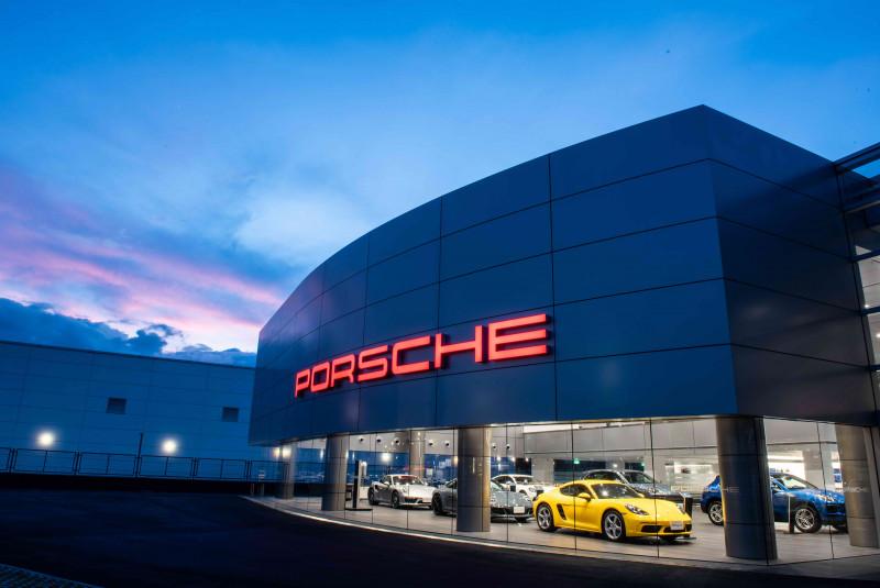 車主專屬 保時捷新北展示暨服務中心打造全球唯一「Porsche Werk 1」客廳