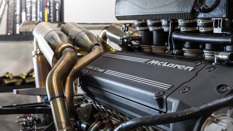 养McLaren超跑不容易! 麦拉伦F1换油箱要价300万