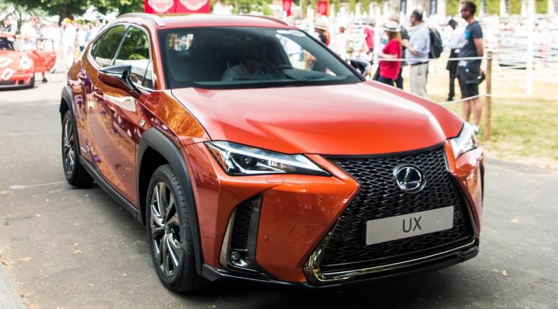 Lexus UX實車現身 預計2018年末登台