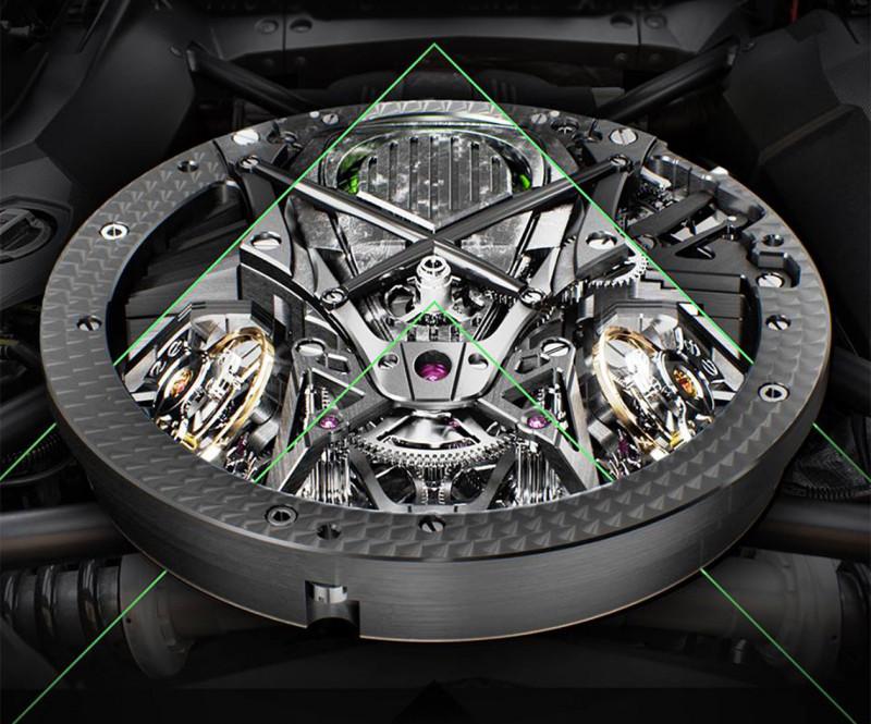 超級比一比 手錶機械機芯 vs 汽車引擎