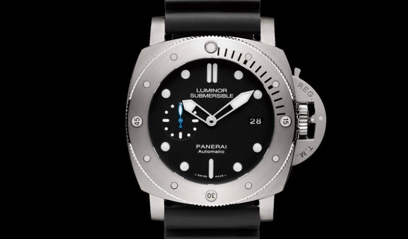 潛水錶就該像它一樣粗勇 沛納海1305