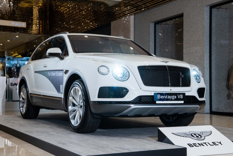 賓利超級SUV Bentley Bentayga V8 1,080萬元起