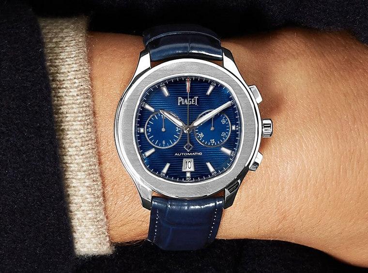 高級運動錶不一定高不可攀 伯爵Piaget Polo s計時錶