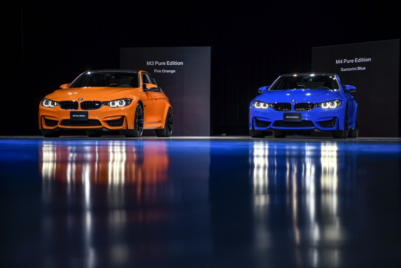 BMW M3 Pure Edition四門跑車、M4 Pure Edition雙門跑車 4款專屬亮麗色彩500萬有找