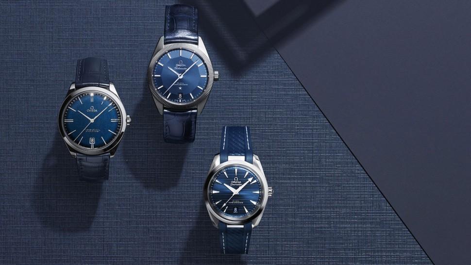 藍色面盤近年很夯 OMEGA精選藍面錶