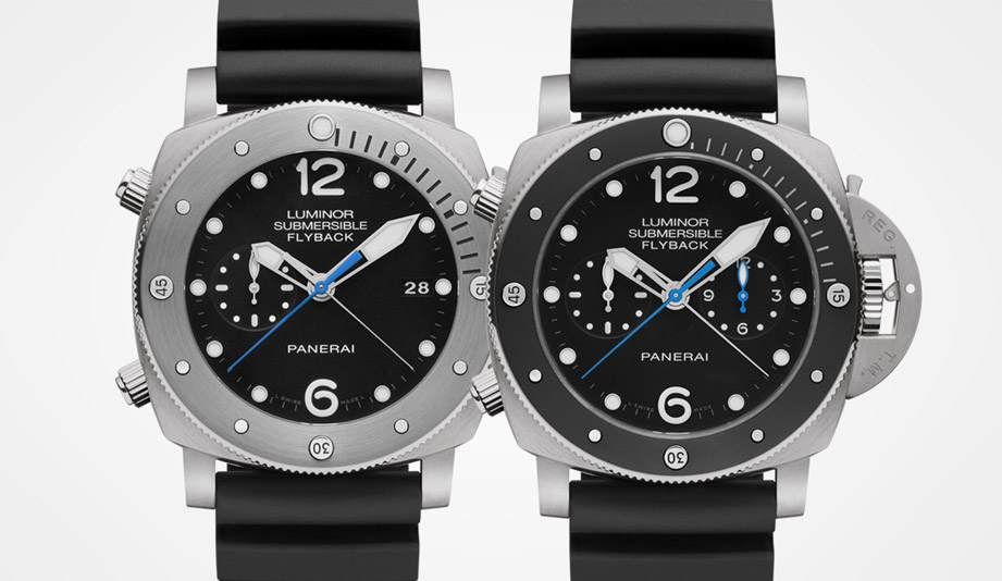 沛納海計時潛水錶推薦 PAM00614&PAM00615