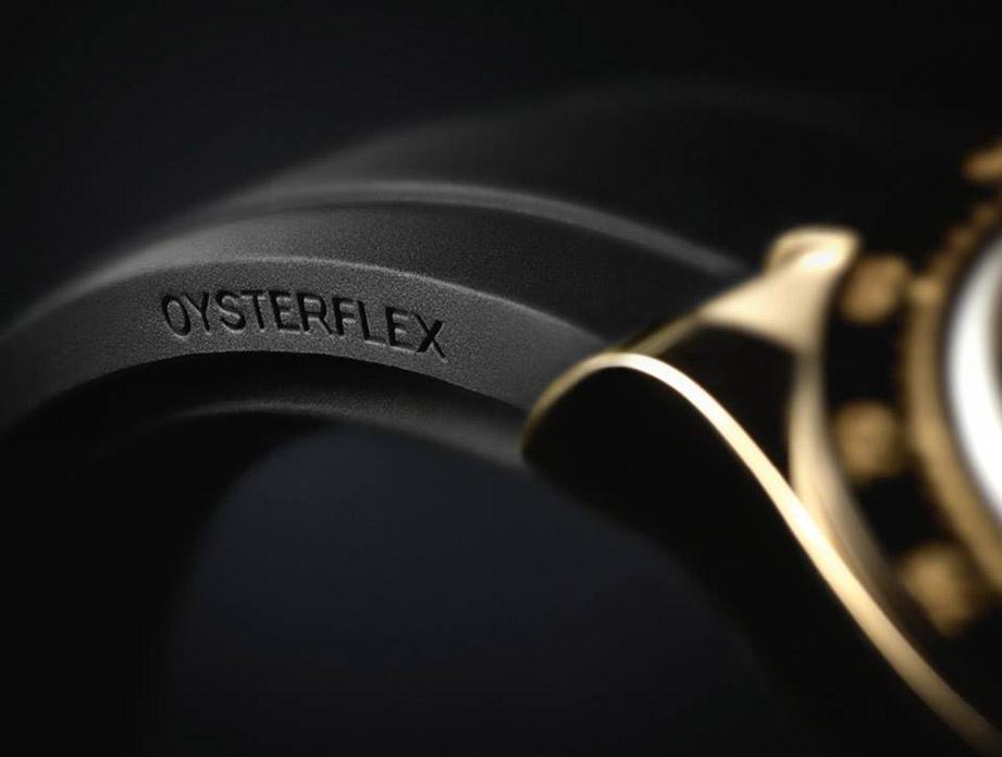 舒適耐用的Oysterflex 勞力士橡膠錶帶