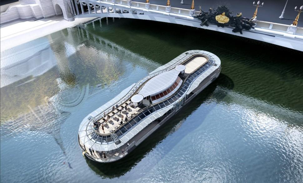 邊品嚐米其林星級美食邊遊巴黎遊塞納河 Ducasse sur Seine正式啟航