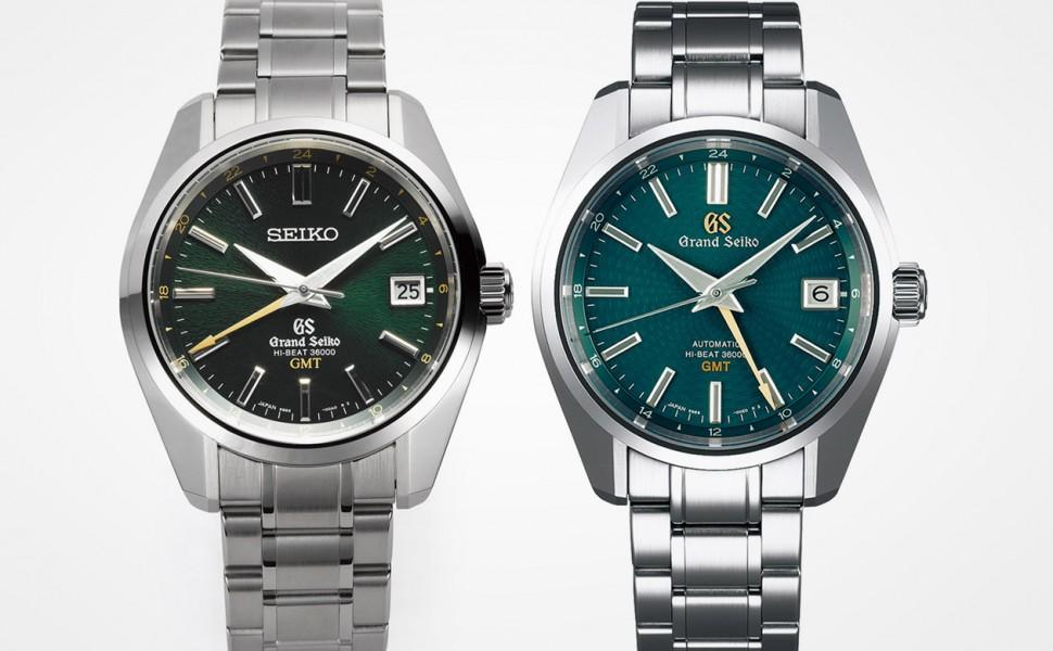 GRAND SEIKO GMT SBGJ005和SBGJ227的差別