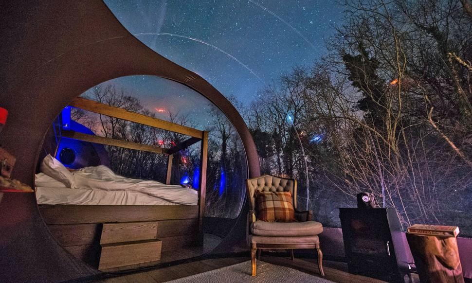 豪華露營的理想選擇 Finn Lough Resort