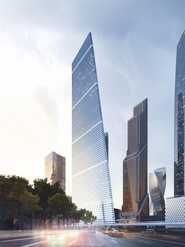 纪录是被用来超越的!莫斯科最新城中摩天大楼