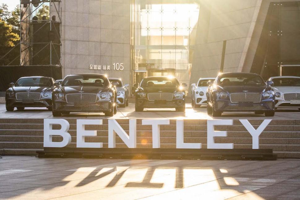 賓利百年慶典暖身 全新第三代Bentley Continental GT首批抵台
