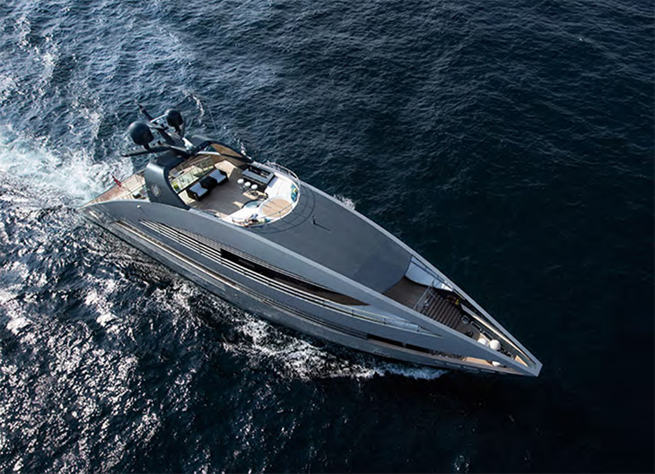 豪華遊艇曾亮相電影《飆風特攻》 由建築大師Norman Foster設計