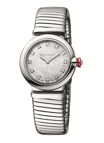 期間限定 DFS集團獨家呈獻寶格麗Bvlgari Lvcea Tubogas光環腕錶