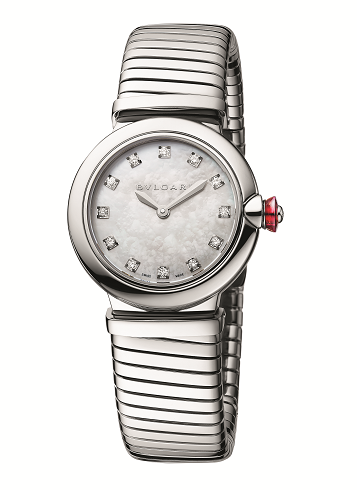 期间限定 DFS集团独家呈献宝格丽Bvlgari Lvcea Tubogas光环腕表