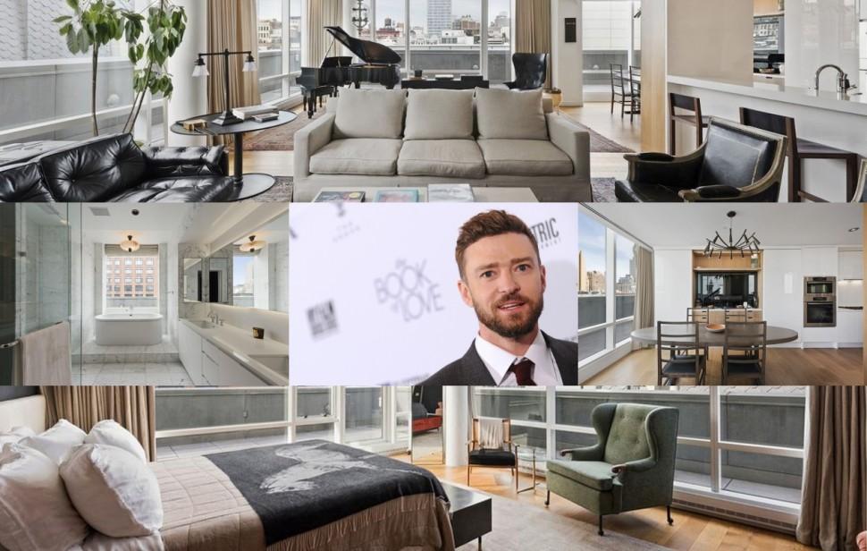 市值2.4億台幣 Justin Timberlake紐約豪華公寓
