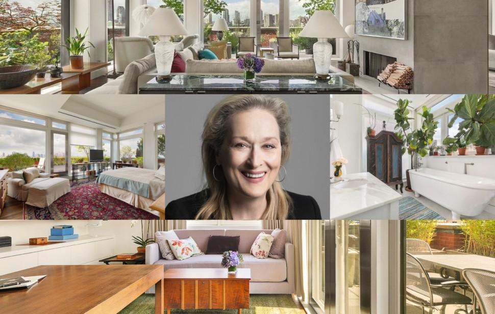 转售中! 一起来看看梅莉·史翠普市值7.6亿的曼哈顿豪宅