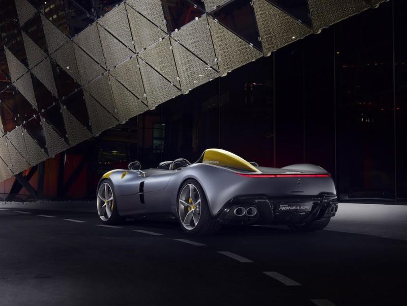 Icona限量特别版法拉利 Ferrari Monza SP1/SP2诞生
