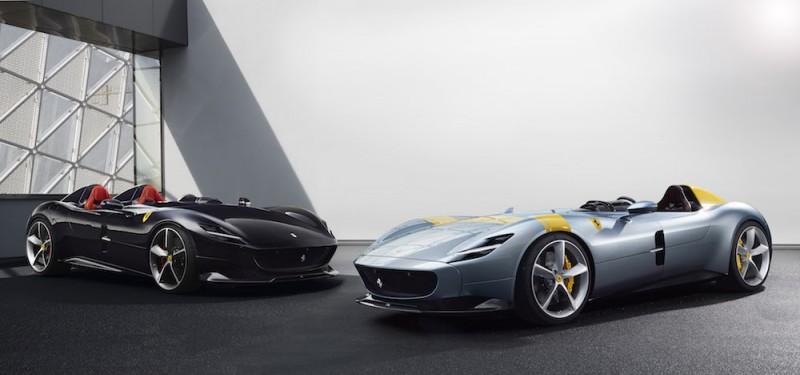 Icona限量特别版纯正无车顶设计 法拉利限量款跑车Ferrari Monza SP1/SP2诞生