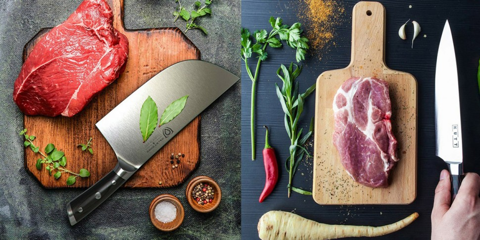 它们都是世界公认的顶级厨刀  德国VS日本,哪一国的厨刀比较好用?