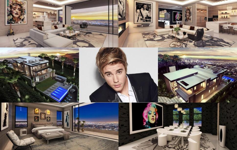 重擲千萬美金 小賈斯汀的LA豪宅