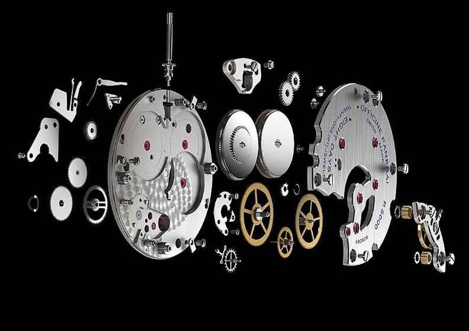 簡易圖解手錶機芯構造
