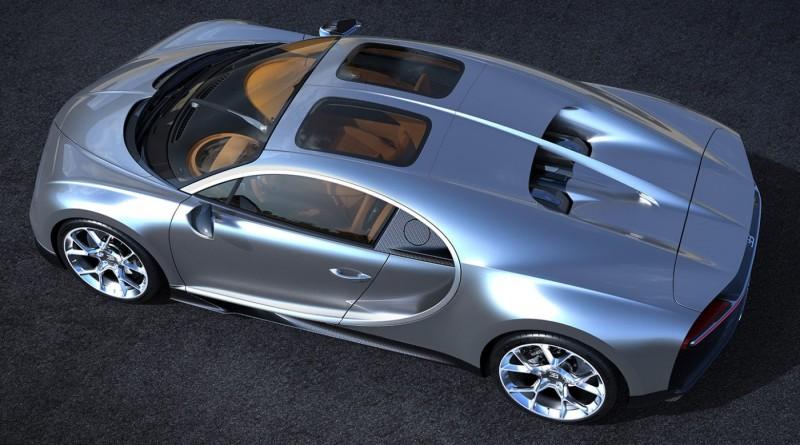 超跑也能開天窗?Bugatti Chiron新選配Sky View