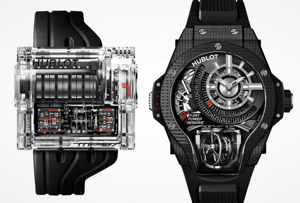 最狂的高級製錶系列 宇舶MP-07 & MP-09