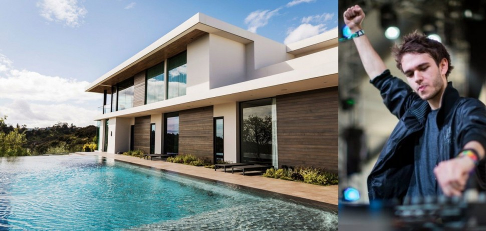 名人豪宅 Zedd近5億台幣的LA豪宅長這樣!