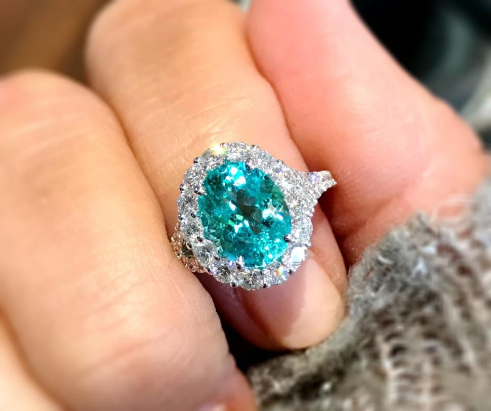 它有碧璽之王的美稱 比鑽石更稀有的寶石