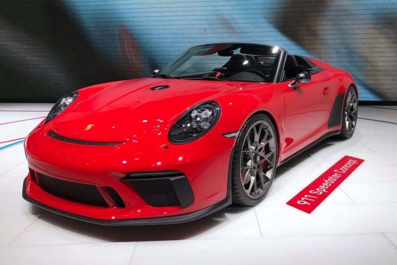 巴黎車展亮相後準備投產 Porsche 911 Speedster II Concept限量1948輛