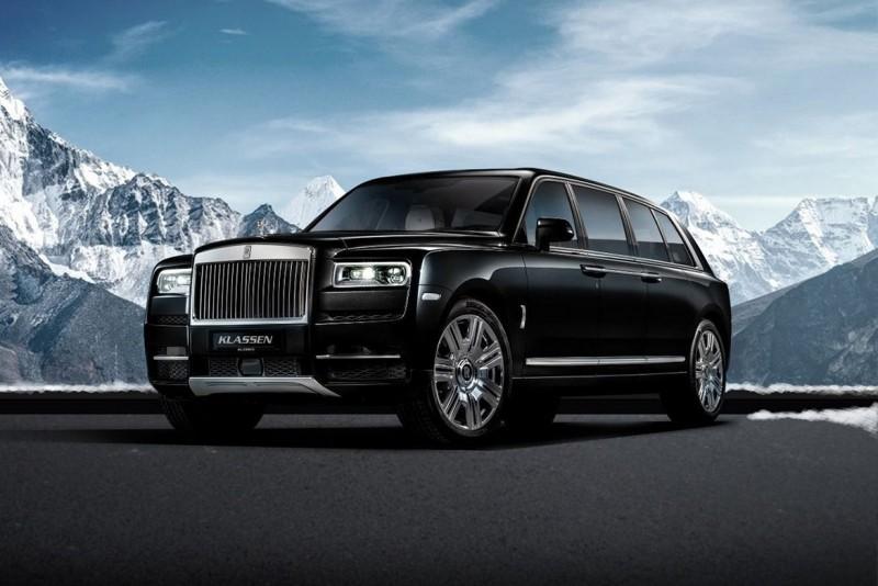 勞斯萊斯SUV也能防彈加長 Rolls-Royce Cullinan limo