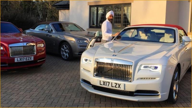 今天穿什麼就開什麼顏色的勞斯萊斯 Rolls-Royce粉絲車主的一週紀錄