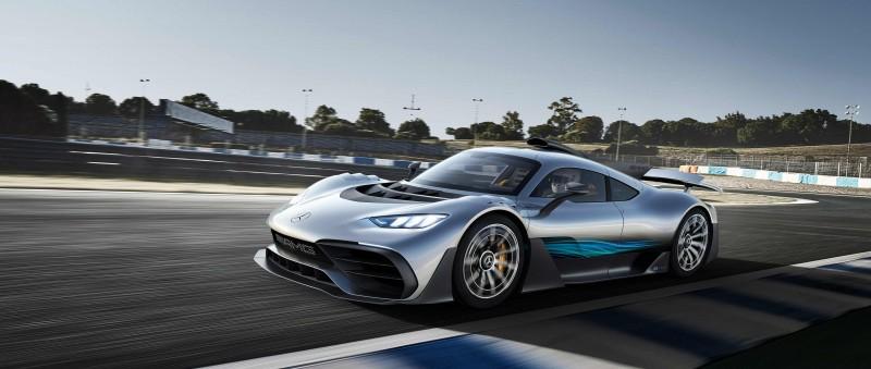 道路版 F1  Mercedes-AMG One限量275輛