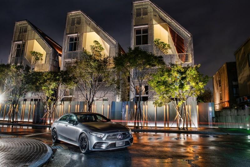 賓士雙驕登台 第三代Mercedes-Benz CLS搭輕型複合動力