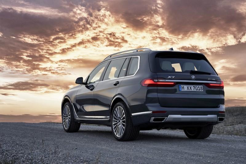 顶级大型休旅新血报到 全新BMW X7现身