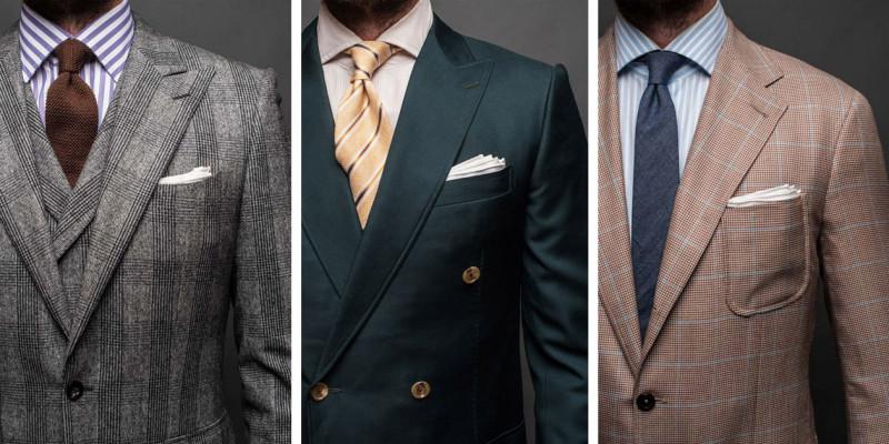 西裝穿的好與壞肩線很重要 一次看懂五種肩線類型