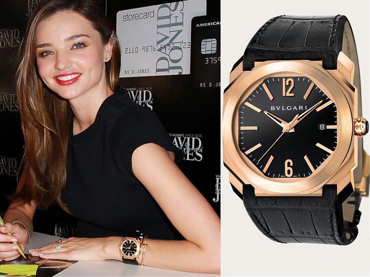 名人戴錶-超模戴錶品味各有千秋