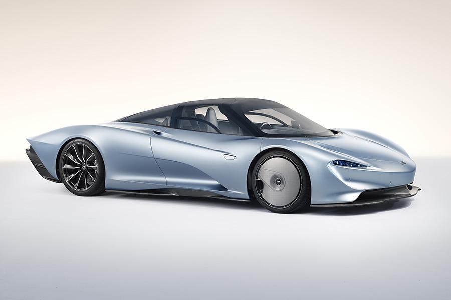 名如其形的三人座超跑 McLaren Speedtail 全球限量106輛