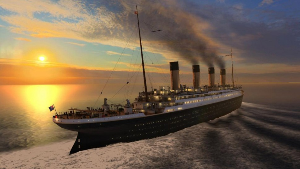 斥資5億美元再造鐵達尼號 預計2020首航!