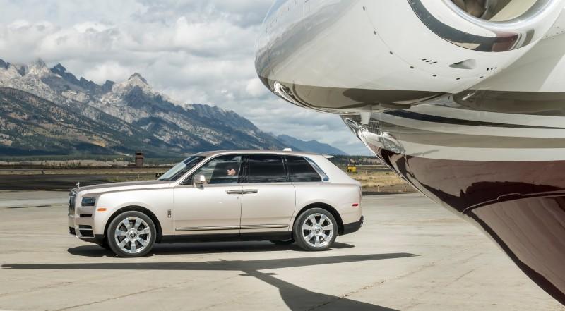 跟Ghost差不多貴 Rolls-Royce Cullinan 11/15在台發表