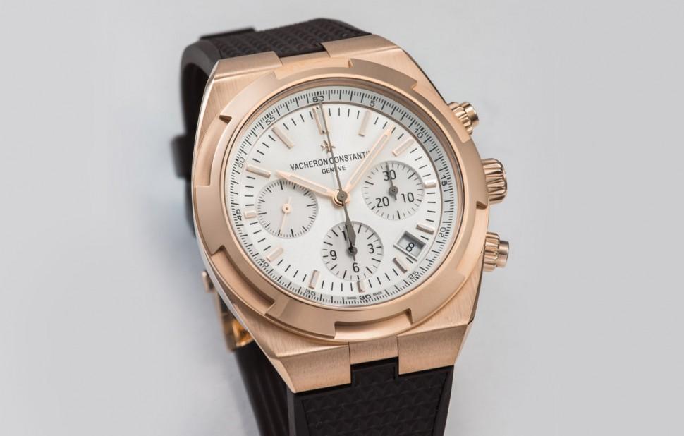 一只錶風格也可以很多變 VC Overseas Chronograph