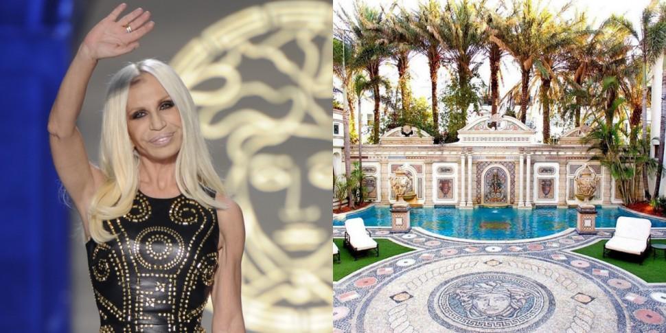 跟品牌風格如出一徹! VERSACE凡賽斯藝術總監Donatella Versace極致奢華的米蘭豪宅