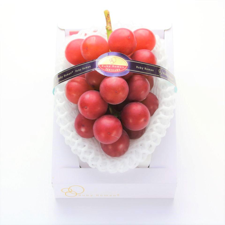 一串要價3萬台幣的日本葡萄界愛馬仕 羅馬紅寶石葡萄Ruby Roman