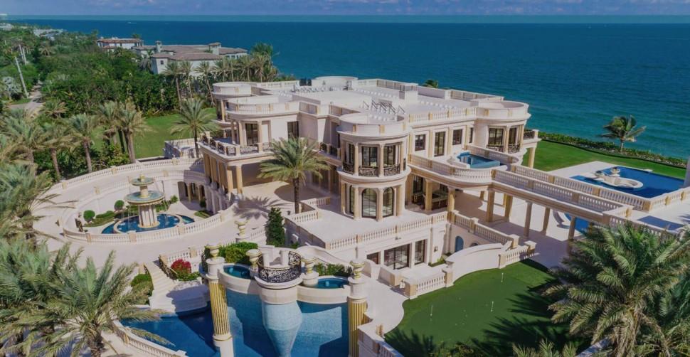 全美国其中最贵价值1.59亿美元的房子即将拍卖!