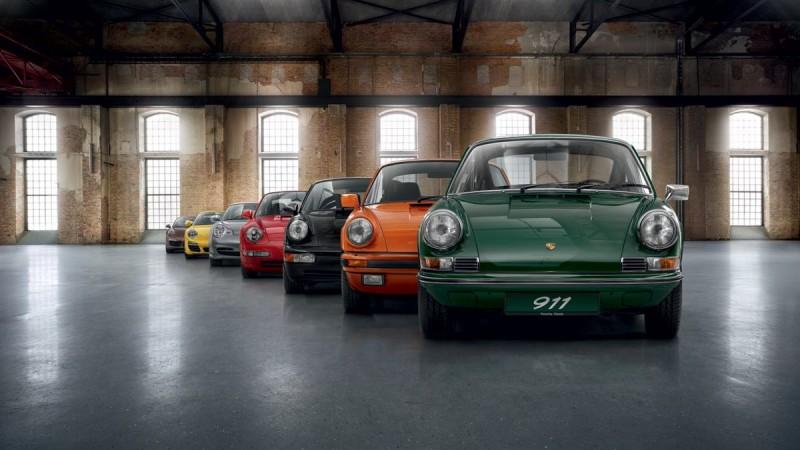 保時捷必記經典 Porsche 911代號懶人包